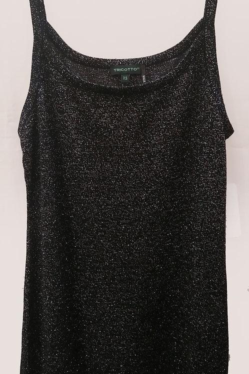 Camisole noire lustré Tricotto 173