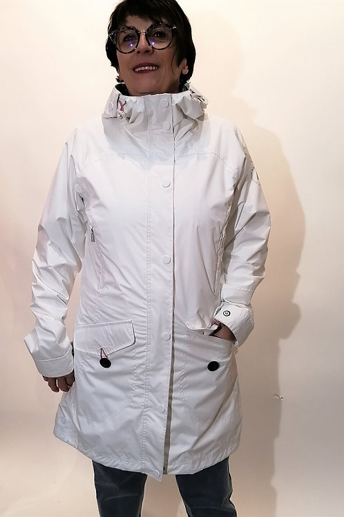 Manteau blanc Lutha Marita