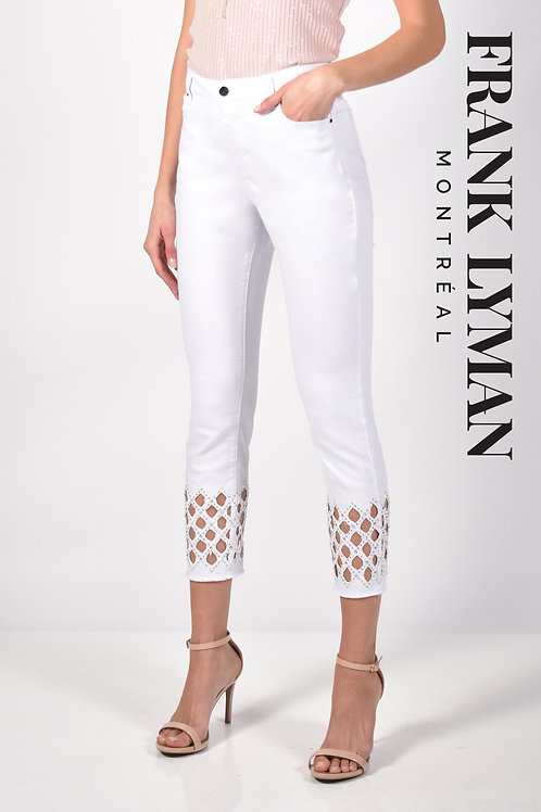 Pantalon blanc Frank Lyman 211112U