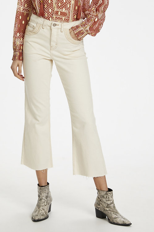 Pantalon gaucho Cream - 10606782