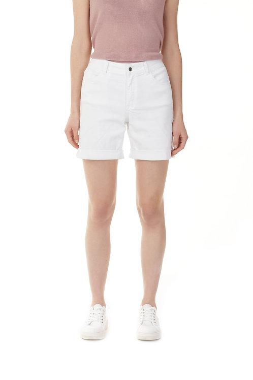 Short blanc Charlie B 8029-618A