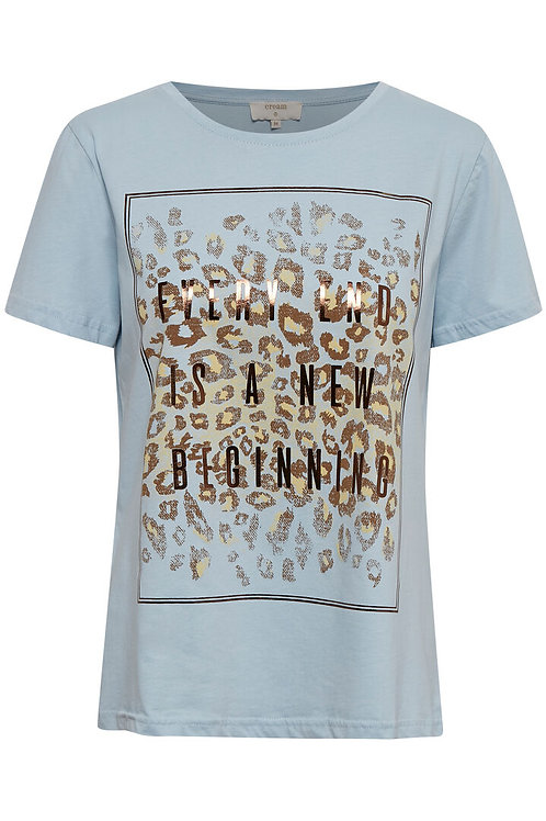 T-shirt Cream 10608306