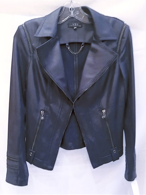 Jacket suède bleu Vex 242