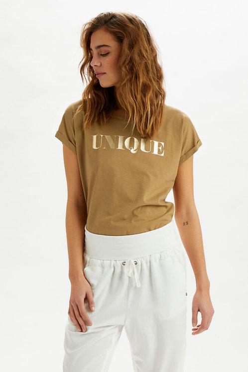 T-shirt Cream 10608099