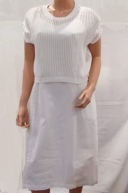 Robe blanche avec chandail Spanner 320748