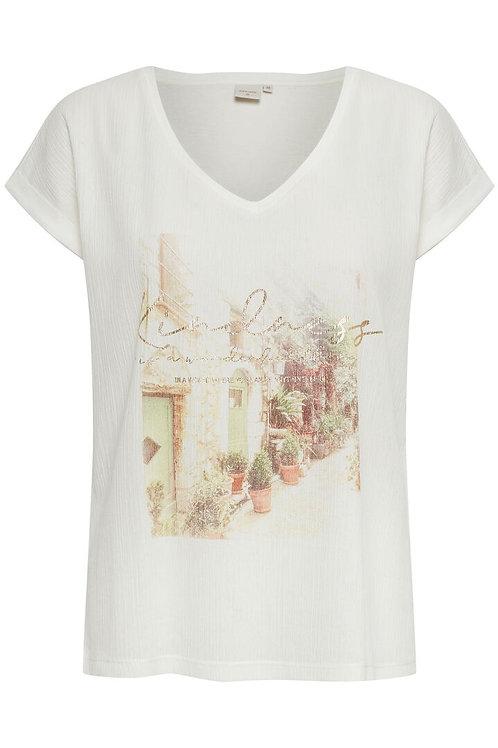 T-shirt Cream 10608101