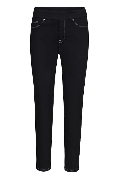 Jeans noir Tribal 52120-2020