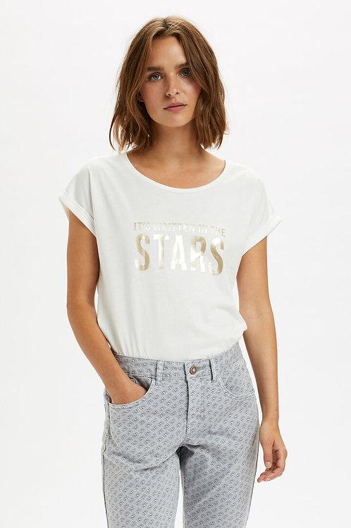 T-shirt Cream 10607620