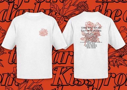 """SCANDAL _ WORLD TOUR 2020 """"Kiss from the darkness"""" Tour Goods"""