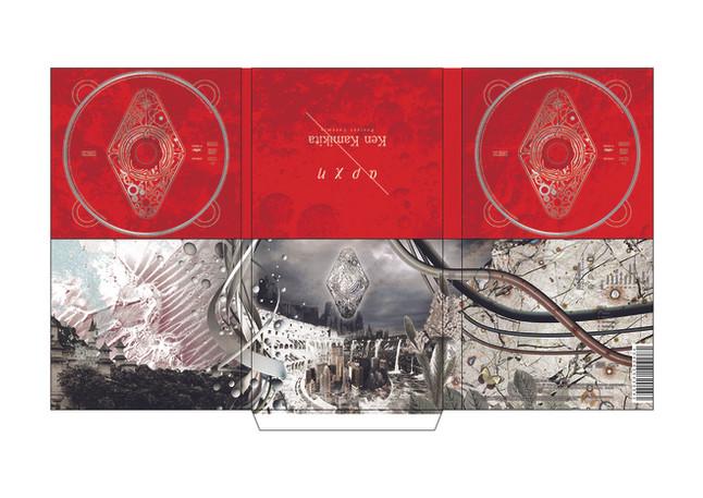 上北健_『apxn』CD Jacket