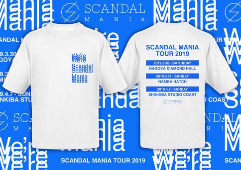 SCANDAL_SCANDAL MANIA TOUR 2019 Tour Goods