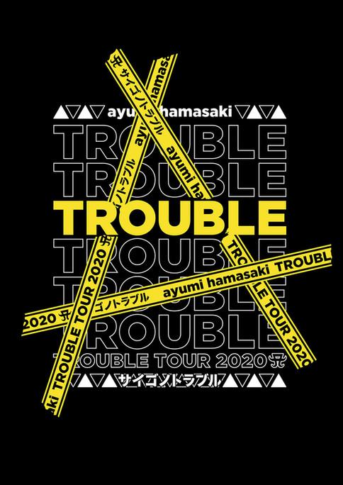 ayumi hamasaki TROUBLE TOUR 2020 A ~サイゴノトラブル~ Tour Logo