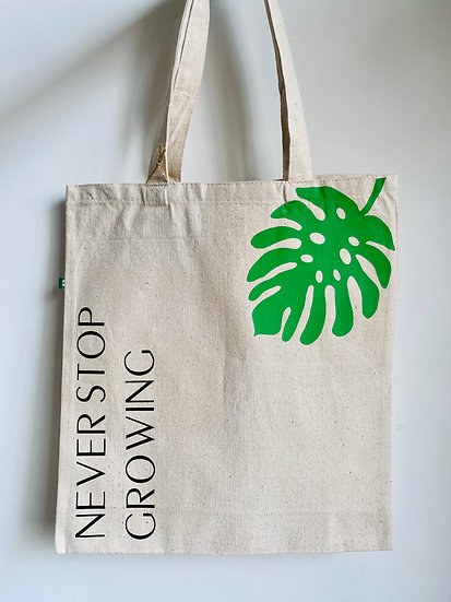 Never Stop Growing Tote