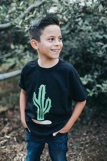 Black Cactus T-Shirt