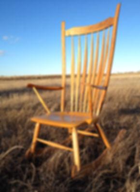 meadowwoodstudio, custom rocking chair, custom furniture,