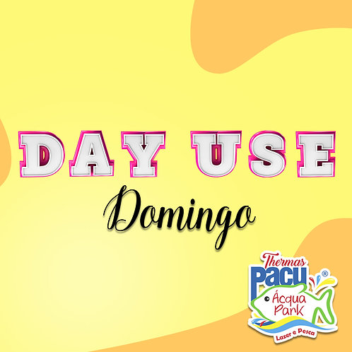 DAY USE - DOMINGO + Almoço