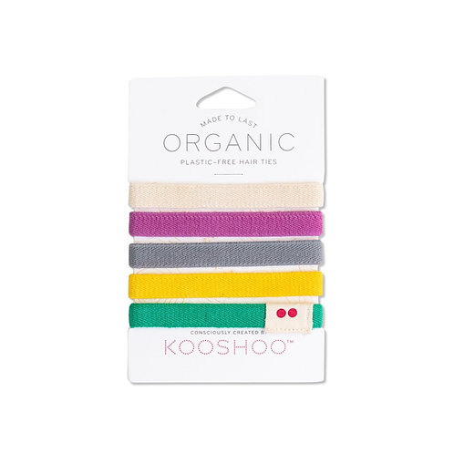 KOOSHOO Plastfrie Hårstrikker, colorful