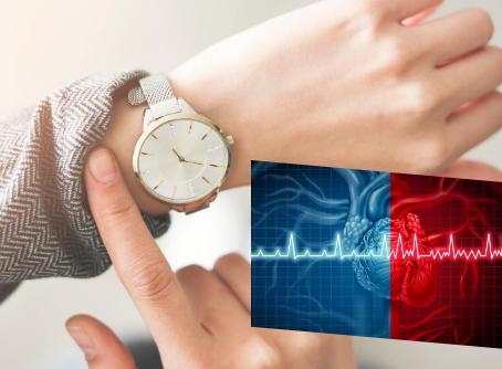 一隻手錶測出心房顫動
