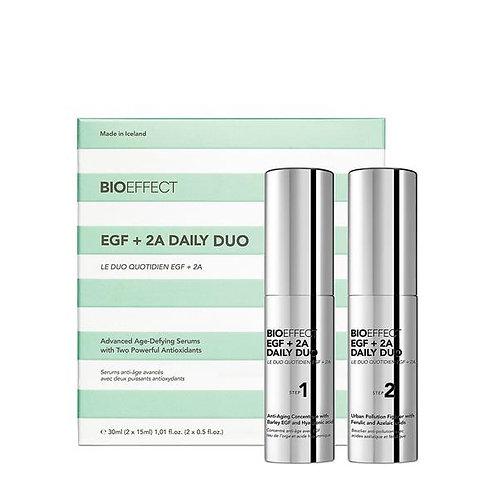 BIOEFFECT EGF +2A daily duo