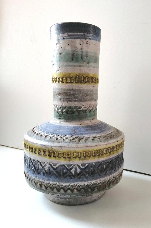 """Vintage Italian Ceramic Bitossi Vase 8"""""""