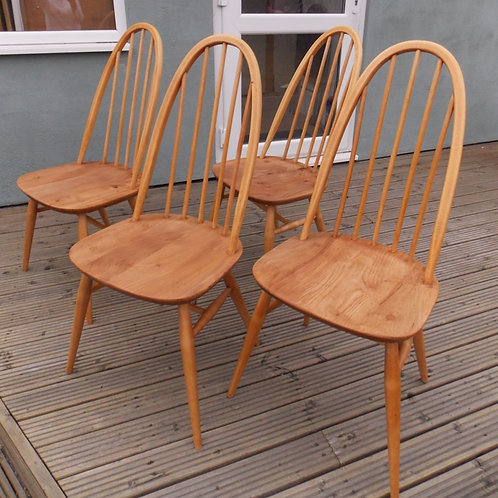 ERCOL Windsor Quaker Dining Chairs Model Number 365