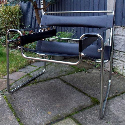 Knoll Wassily Black  MARCEL BREUER Modernist Design