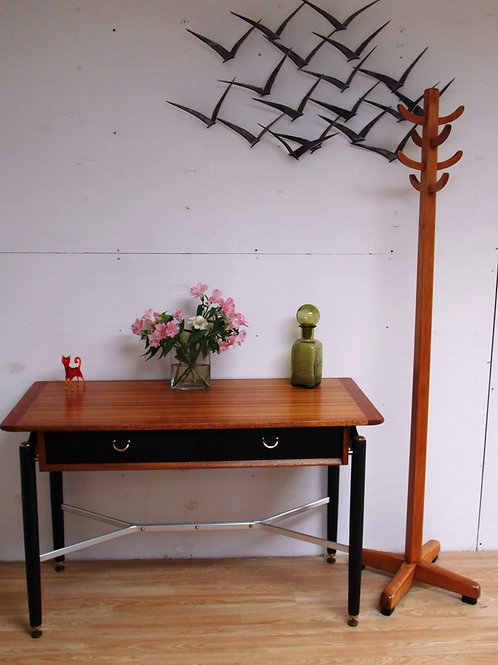 Mid-Century G PLAN Tola & Black Console Table