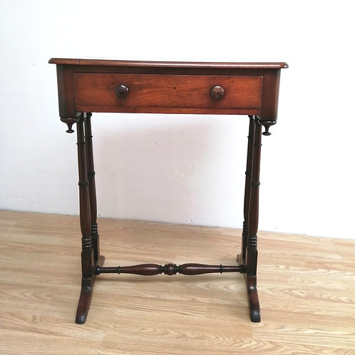 19th Century Compact Mahogany Side Table