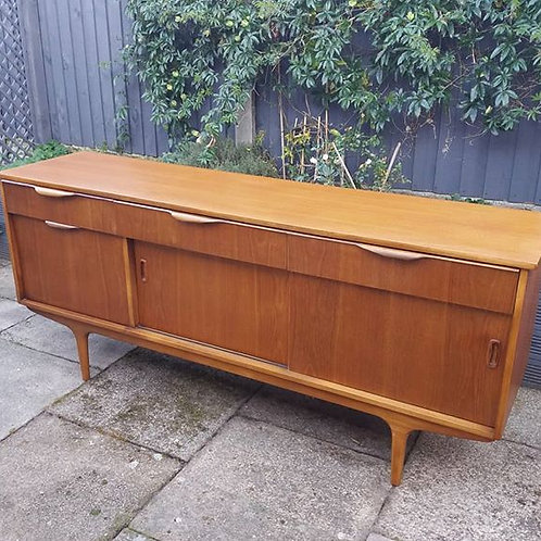 Mid-Century Sutcliffe 1960S Teak Sideboard With Drinks Section