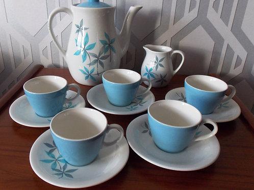 TG Green Grace Gresleyware Gayday Coffee Set