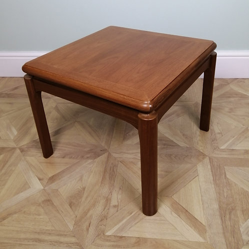 Mid-Century Teak Side / Coffee Table by Nathan Furniture 1970s