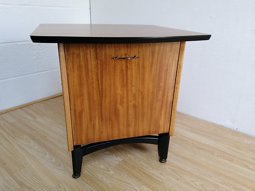 Very Rare 1950s Tola and Black G plan Style Record Cabinet