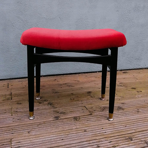 Mid-Century Stool by Nathan Furniture 1960s