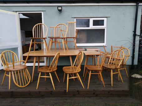 Buying Trip for Ercol Furniture