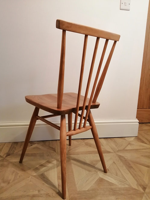 Original Mid-Century Ercol 391 All Purpose Chair Elm and Beech Refurbished