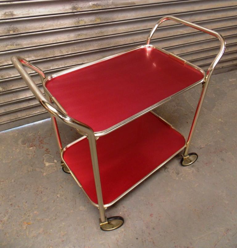 1960s Drinks Trolley