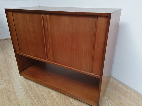 Mid-Century LP Vinyl Record Cabinet 1960s
