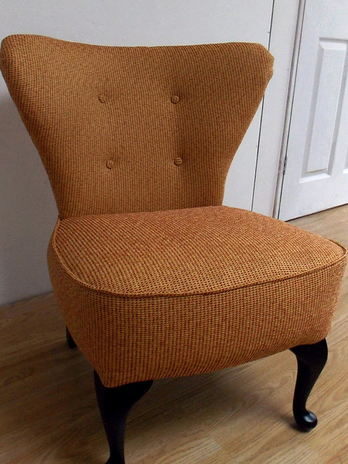 1950s Cocktail Chair - Reupholstered