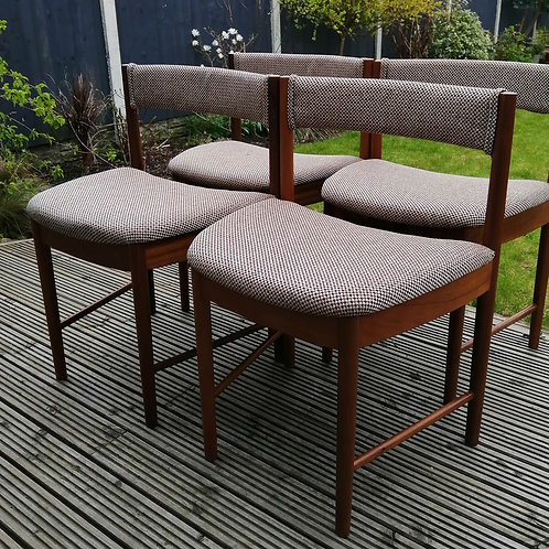 Mid-Century Dining Chairs by A H McIntosh of Kirkaldy