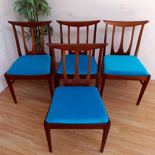 Mid-Century G PLAN Brasilia Dining Chairs