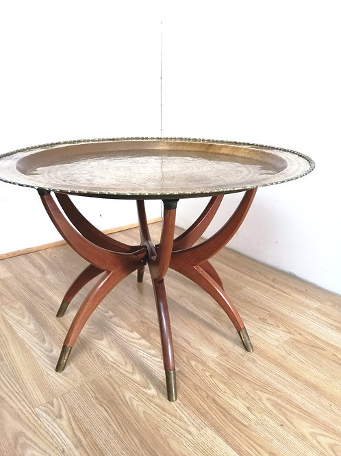 Mid-Century Asian Coffee Table on Spider Legs