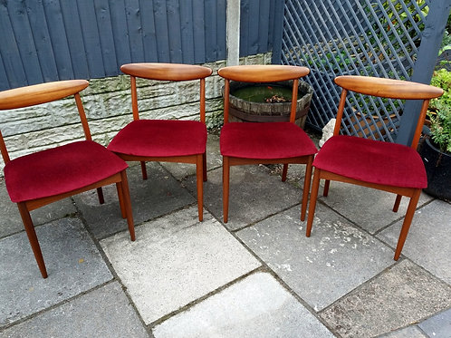 1960s Greaves and Thomas Dining Chairs