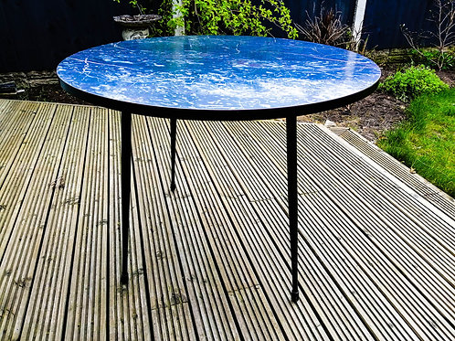 Mid-Century Formica Side / Coffee Table