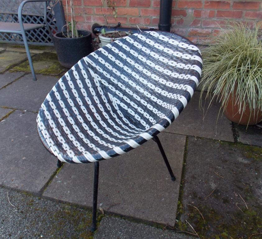 1960s Basketweave Chair