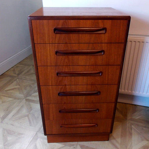 Mid-Century G PLAN FResco Tallboy Chest of Drawers