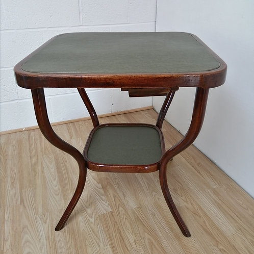 Antique Bentwood Game / Card Table by Thonet c.1910