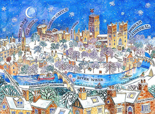 Durham City In The Snow