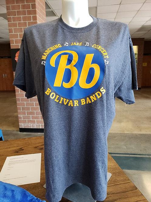Bolivar Bands Bb logo Tee
