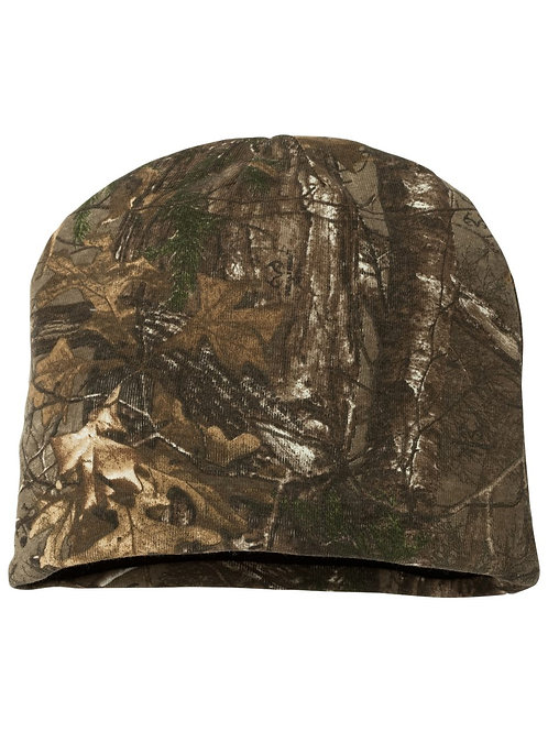 Outdoor Cap Double Knit Camo Beanie