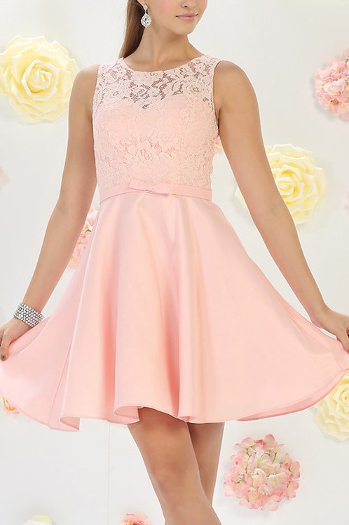 Flirty Lace Short Dress